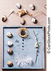 påsk, objekt, kollektion