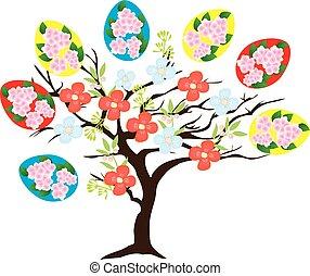 påsk, träd