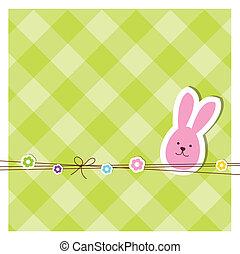 påske, card
