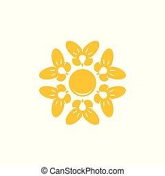 pære, hold, vektor, lys, logo, arbejde, cirkel, sommerfugl