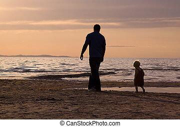 père, fils