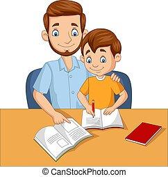 père, portion, sien, fils, devoirs