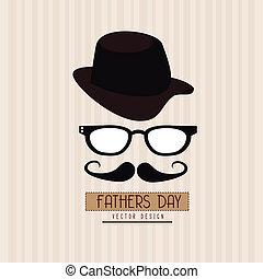 pères, conception, jour