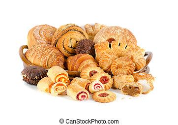 pékség, állhatatos, élelmiszerek