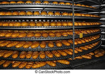 pékség, termelés, bread