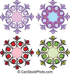 példa, kör alakú