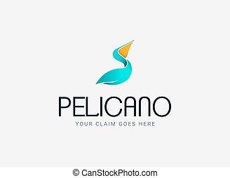 pélican, compagnie, logo