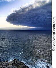péninsule, rivage, dingle, irlande