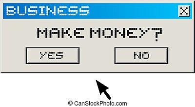 pénz, csinál