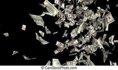 pénz, fall.