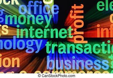 pénz, internet, lebonyolítás
