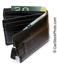 pénz, kanadai, levéltárca