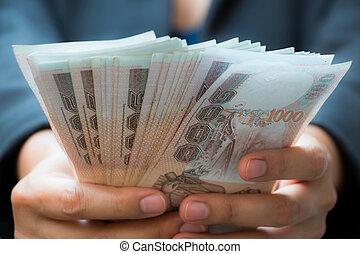 pénz, nő, Ügy, birtok
