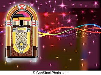 pénzbedobós gramofon automata, háttér
