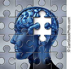 pérdida de memoria, y, alzheimer, enfermedad