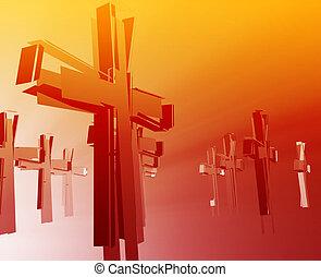 pérdida, fe, religión