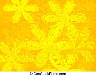 pétalo, amarillo