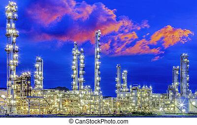 pétrochimique, plan