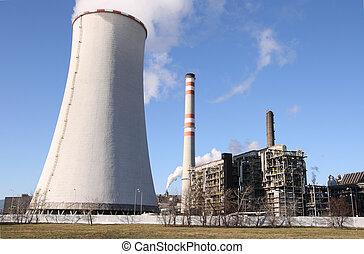 pétrochimique, usine