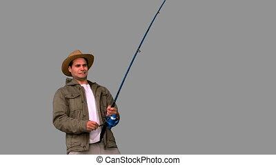 pêche homme, quoique, effort, confection