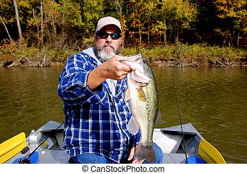 pêcheur, basse