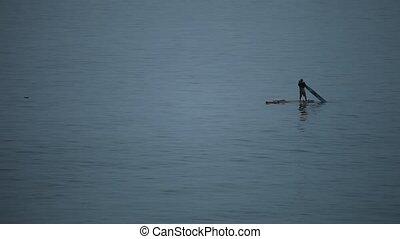 pêcheur, océan