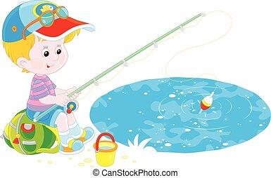 pêcheur, peu