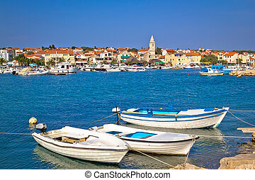 pêcheurs, pakostane, idyllique, village