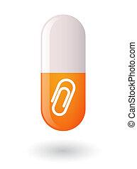 píldora, clip