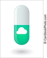 píldora, nube
