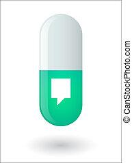 píldora, tooltip