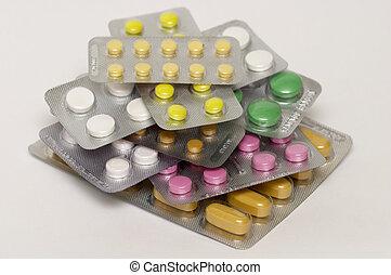 píldoras de la vitamina