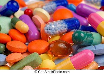 píldoras, macro