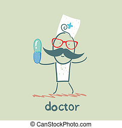 pílula, doutor