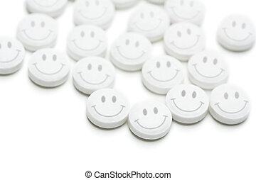 pílulas felizes