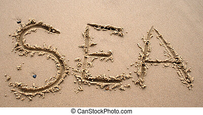 písčina, dílo, -, moře