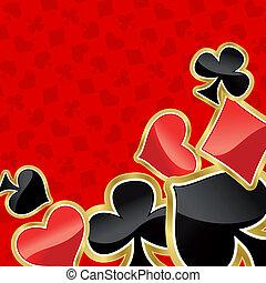 póker, plano de fondo