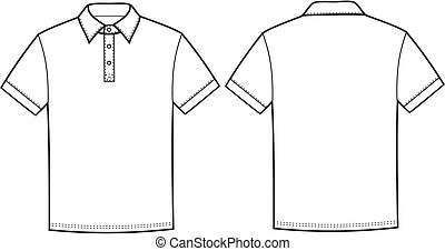 pólo, t-shirt