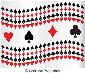 pôquer, fundo