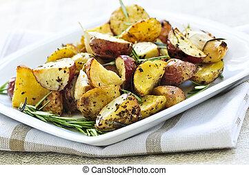 pörkölt, krumpli