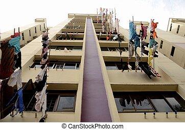 público, singapur, apartamentos
