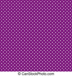 púrpura, brillante, polca, seamless, puntos