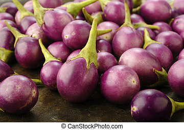púrpura, brinjal
