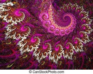 púrpura, cachemira