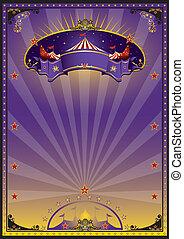 púrpura, circo