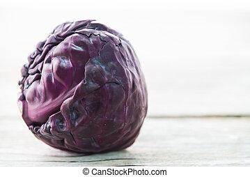 púrpura, col