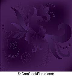 púrpura, cuadrado, plano de fondo