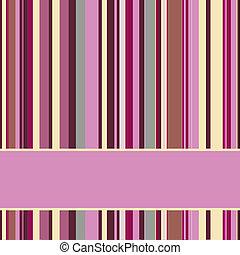 púrpura, fondo rayado