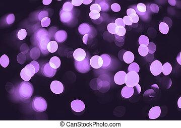 púrpura, luces, plano de fondo