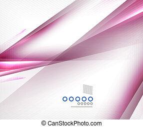 púrpura, movimiento, diseño, líneas, confuso